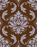 Wallpaper 24. Wallpaper or swatch in baroque style Stock Image