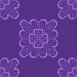 Wallpaper in abstract style. A violet seamless vector background. Symmetrical ornament. Graphic vector pattern. Royalty Free Stock Photography