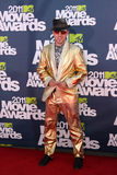 Wallpaper arrivimg at the the 2011 MTV Movie Awards Royalty Free Stock Image