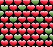 Wallpaper av hjärtor royaltyfri illustrationer