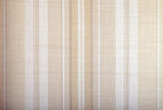 Wallpaper background with beige stripes pattern Royalty Free Stock Photos