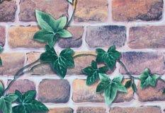 Wallpaper background of brick wall Stock Photo