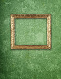 Wallpaper background with frame Royalty Free Stock Photography