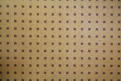 Wallpaper background pattern gold wall. Royalty Free Stock Photography
