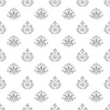 Wallpaper in baroque style Stock Photos