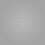 Wallpaper Batik Swirl Silver Traditional stock illustration