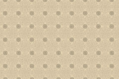 Wallpaper beige circles Stock Photography