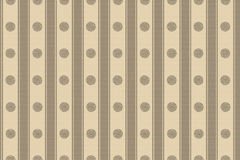 Wallpaper beige circles and stripes Royalty Free Stock Photos