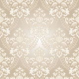 Wallpaper beige gradient. Old-fashioned wallpaper with gradient Royalty Free Stock Photography