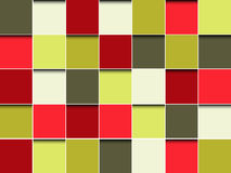 Wallpaper blocks Stock Photos