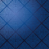 Wallpaper with blue tiles Stock Images