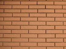 Wallpaper brick. Beautiful brick home side an early age Stock Image