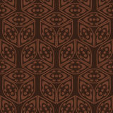 Wallpaper broun pattern Royalty Free Stock Photo