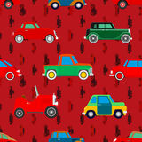 Wallpaper of cars. Royalty Free Stock Photo
