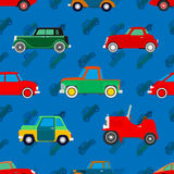 Wallpaper of cars. Royalty Free Stock Photography