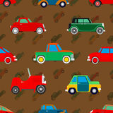Wallpaper of cars. Royalty Free Stock Image