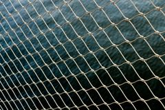 Wallpaper chain fence water metal pattern wallpaper royalty free stock photo
