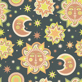 Wallpaper for children's room Stock Photo