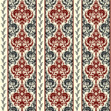 Wallpaper in classic style. Lace seamless pattern. Vintage background. Vector illustration. Royalty Free Stock Photography