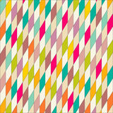 Wallpaper colorful triangles pattern geometric Stock Images