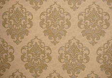 Wallpaper, decor, monogram Royalty Free Stock Image