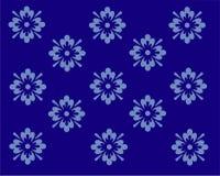 Wallpaper design in blue Stock Image
