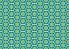 Wallpaper with color flowers do emerald Royalty Free Stock Photo