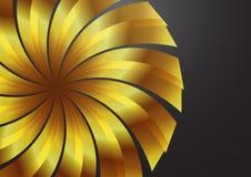 wallpaper för bakgrundsfärgguld s Arkivbild