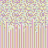 wallpaper för polka för prickmodell seamless Fotografering för Bildbyråer