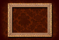 Wallpaper and frame stock photography