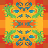 Wallpaper good mood colorful abstract background Royalty Free Stock Images