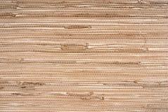 Wallpaper grass cloth texture. Closeup of the wallpaper grass cloth texture Stock Photo