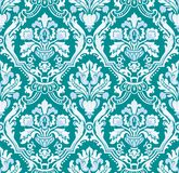 Wallpaper green. Floral textile pattern and wallpaper pattern Stock Photo
