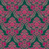 Wallpaper green-pink. Floral textile pattern and wallpaper pattern Stock Photos