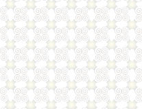 Wallpaper grid pearl arabesque spirals. Stock Images