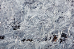 Wallpaper ice on the river Stock Image