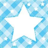 A wallpaper. Illustration of a blue wallpaper vector illustration
