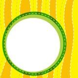 A wallpaper. Illustration of a yellow wallpaper vector illustration