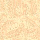 Wallpaper le modèle sans couture avec l'élément floral abstrait pour le deco Image libre de droits