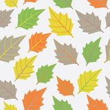 Wallpaper with leaves Stock Images