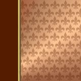Wallpaper ornament design Stock Photo