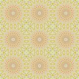 Wallpaper ornament floral seamless generated texture Royalty Free Stock Photos