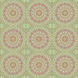Wallpaper ornament floral seamless generated texture Royalty Free Stock Images
