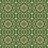 Wallpaper ornament floral seamless generated texture Royalty Free Stock Photography