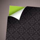 Wallpaper paper curl modern Stock Photos