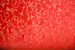 Wallpaper pattern. Luxury seamless red floral wallpaper background royalty free stock photography