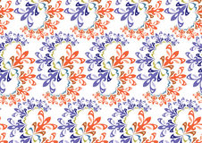 Wallpaper pattern Royalty Free Stock Image
