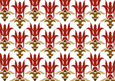 Wallpaper pattern Stock Photography