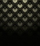Wallpaper Pattern black Stock Photography