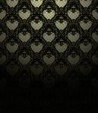 Wallpaper Pattern black Stock Photography
